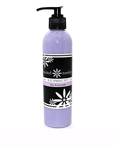 Lilac  Lavender Nourishing  Moisturizing Aloe Lotion 'Is It Spring Yet?' – Perfect For Dry Hands, Face and Body HANDMADE IN THE U.S.A.