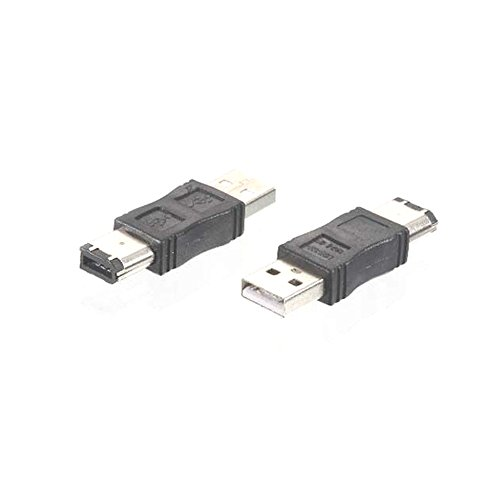 Firewire IEEE 1394 6 Pin Male To USB 2.0 Male Adaptor Convertor, - Firewire Adapter