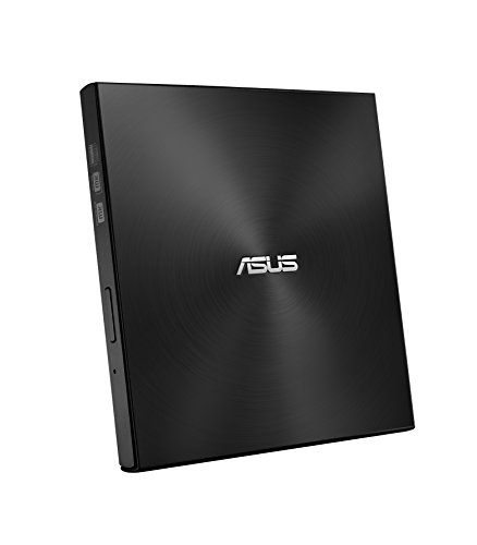 Asus ZenDrive External Ultra-Slim DVD Rewriter with M-Disc, Black