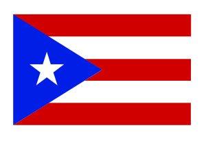 (3) Puerto Rico Flag Funny Hard Hat / Helmet Vinyl Decal Sticker