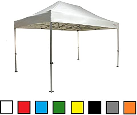 RAY BOT Cenador Plegable 3x4 5 Exa 45 mm Aluminio sin Laterales PVC 350 g, Rojo: Amazon.es: Jardín