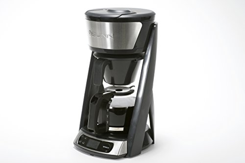 BUNN HB Heat N Brew Programmable Coffee Maker, 10 cup, Stainless Steel