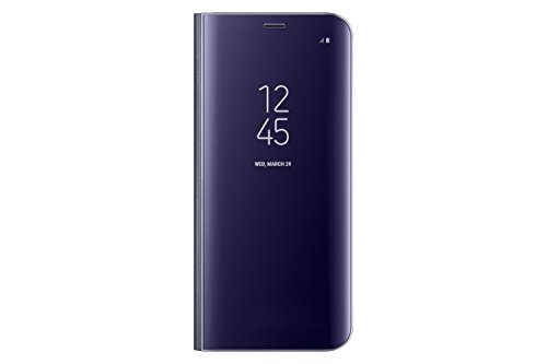 Samsung Galaxy S8 ONLY S-View Flip Cover with Kickstand, Orchid Grey