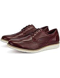 Sapato Masculino Oxford em Couro Antiderrapante Macio