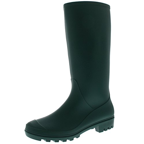 Polar Products Womens Original Tall Winter Snow Wellingtons Muck Waterproof Boots - Green - US7/EU38 - - Wellington Green Shop