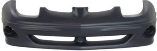 (Crash Parts Plus Primed Front Bumper Cover Replacement for 2000-2002 Pontiac Sunfire)
