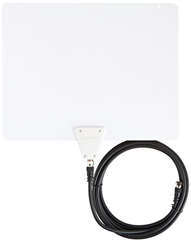 Ultra Thin Indoor TV Antenna - 35 Mile Range
