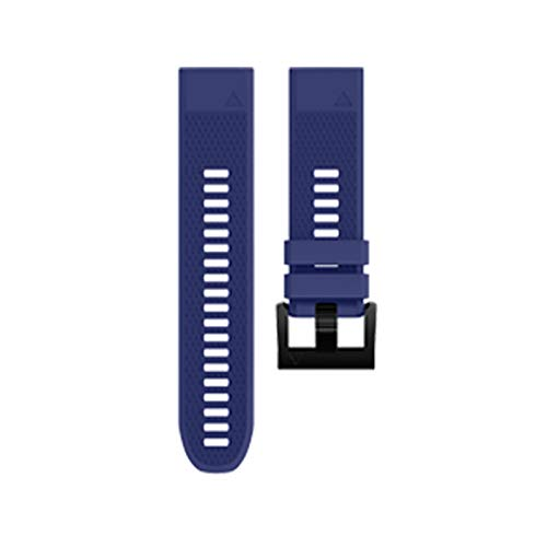 Jewh Silicone Watch Strap for Garmin Fenix 5 - Band GPS Watches Replacement Band - Silicagel