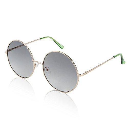 Groovy Womens Sunglasses For Men man Women Boys Unisex Eyeglasses Olive Green ()