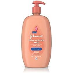 Johnson's Baby Bath Honey Apple Hypoallergenic Body Wash, 28 Fl. Oz. (Pack of 3)