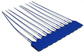 Tamper Seals 1000 - Blue Tamper Seals, Zip Ties are Made for Fire Extinguishers But Work For Many Other Applications