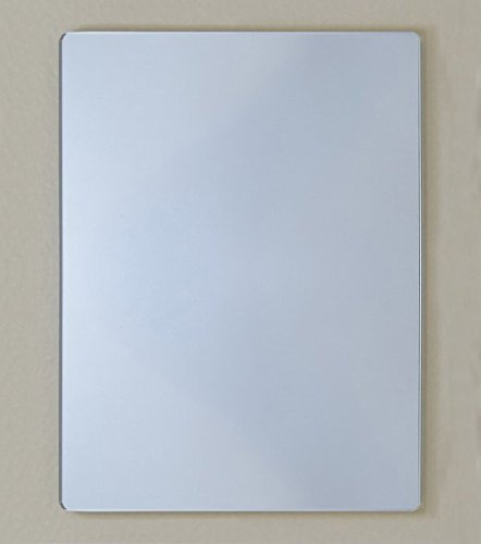"""Traveler Acrylic Mirror (McKay 3 ½"""" x 5"""" Personal Magnetic Locker Mirror - Portable, Compact & Borderless: School Smart Accessory or while at the Gym)"""