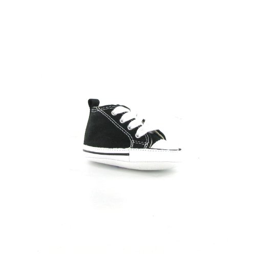 Converse Ct Star First Star Hi Black White Canvas Baby Trainers Size 1 US - Baby Converse Shoes Size 1