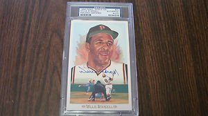 (1989 Willie Stargell Autograph Perez Steele Celebration PSA/DNA Slabed)