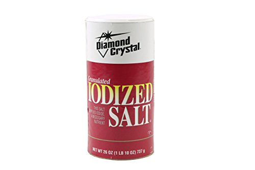 Diamond Crystal Iodized Salt Canister, 26 oz (Iodized Table Salt compare prices)