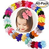 Coxeer Hair Bows for Baby Girl Alligator Clips Easter Basket Stuffers Grosgrain Ribbon Boutique Hair Accessories for Baby Girls Kids Teens Toddlers Children Newborn