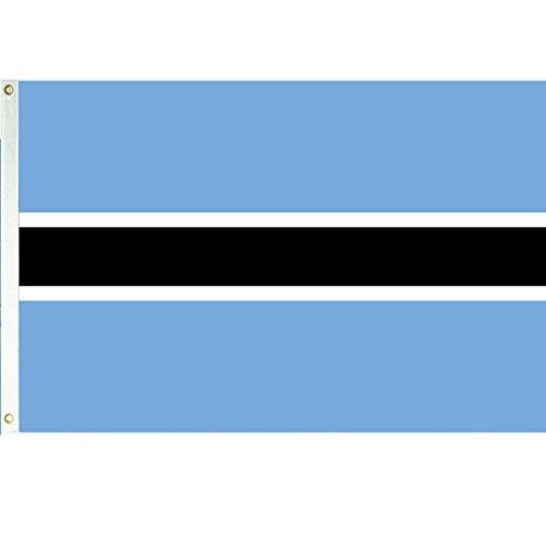 - Vista Flags Botswana 3x5 Polyester Flag