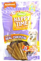 Nylabone Happy Time Puppy Chews, 8-Count Pouch, My Pet Supplies