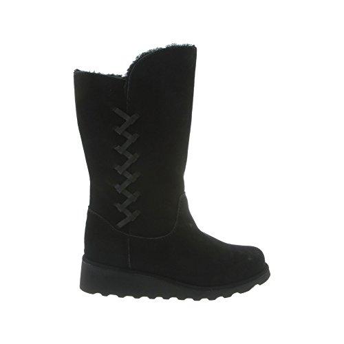 31jR-YnNixL BEARPAW Women's Camila Fashion Boot, Black, 9 M US