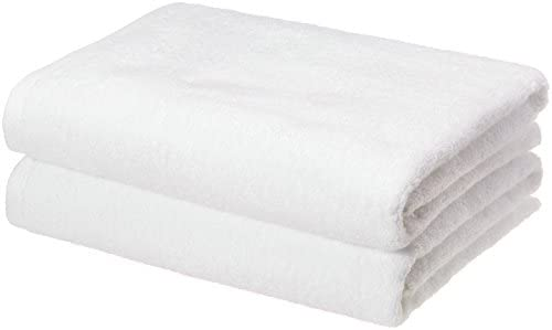 AmazonBasics Quick Dry Bath Towels Cotton product image