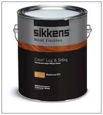(Cetol Log & Siding 1 Gallon Dark Oak by Sikkens)