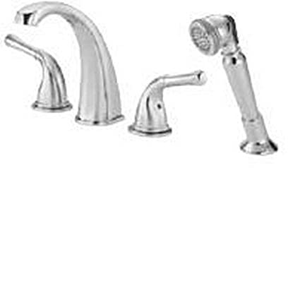 Danze D301571T Deck Mounted Roman Tub Faucet Trim From the Plymouth ...