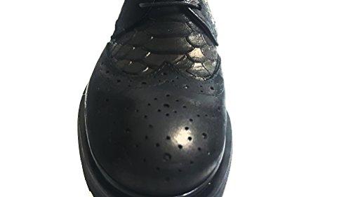 Scarpe 100 Francesca Modello 100 Pelle Vari Made Colori A1960 Stringate Italy Nero Scarpe in pqwndz