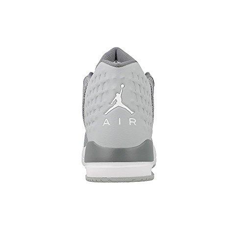 Nike Jordan Academy Bg Jongens Basketbalschoenen 844520-003_4.5y - Wolf Grijs / Wit-koel Grijs