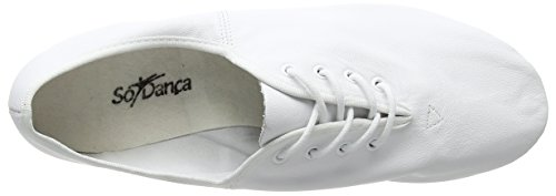 Danca Moderna So Jze09 Scarpe Danza White Donna Jazz e Bianco 7rqdIqw