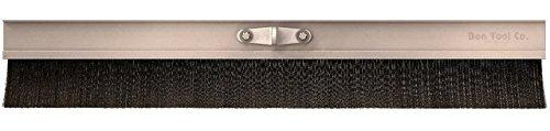 Bon 12-321 36-Inch Aluminum Block Concrete Brush with Soft Poly Bristles