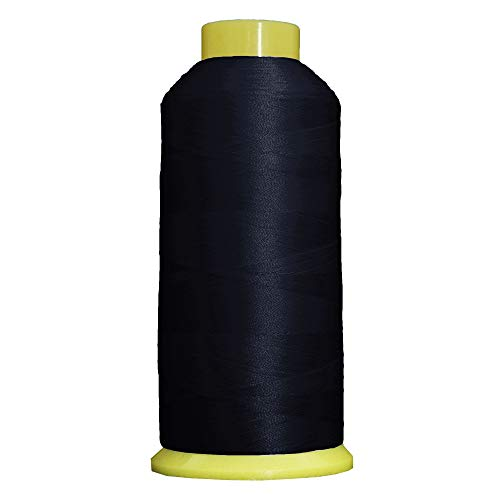 Threadart Polyester Machine Embroidery Thread - 5000m Cones - No. 234 - Navy - 160 Colors