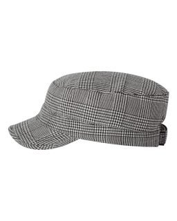 cotton-cadet-hat-for-women-by-peter-grimm-black-plaid