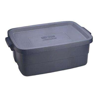 10 Gallon Dark Indigo Rubbermaid Roughneck Container - 24