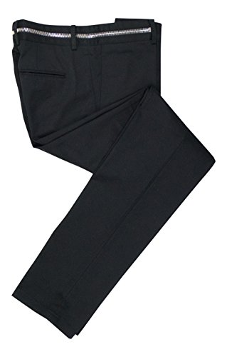 GIVENCHY Black Cotton Casual Pants Size 46/30