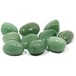 Green Aventurine Tumble Stone (20-25mm) 5 Pack