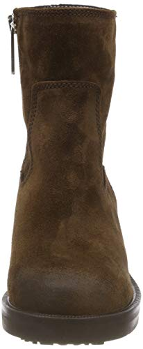 Motardes Femme Boot Marron 212 Biker Suede Jeans Bean Bottes Tommy Essential Coffee q6YWC