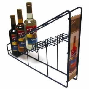 Torani Coffee Syrup Wire Rack (6-750ml bottle rack)