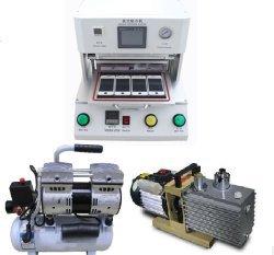 GOWE (con bomba de vacío + compresor de aire) tallerheels laminador OCA laminación máquina