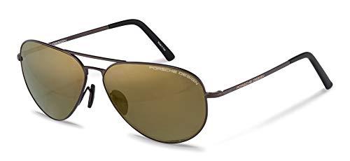 Eyeglasses Porsche Design P 8508 O V 219 dark brown/flash gold