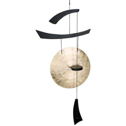 Wind Chime Chimes Emperor Gong Large, Black