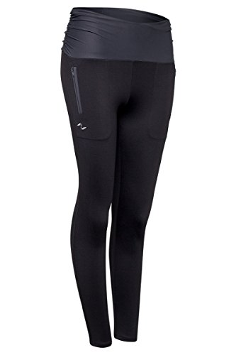 Pantalon Pitillo Naffta - NEGRO / GRIS CENIZA - Talla XL NEGRO / GRIS CENIZA