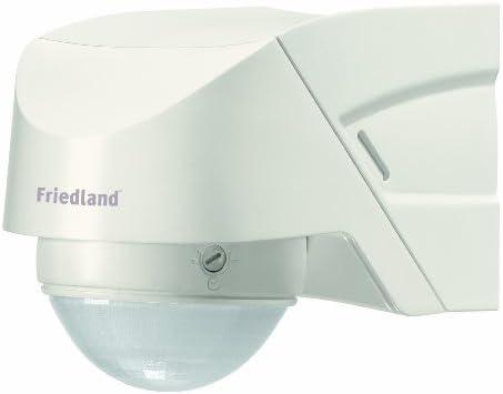 Friedland L330WHI Spectra + - Luz con sensor de movimiento 360° con mando, color blanco: Amazon.es: Iluminación