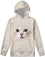 Renewold Girls Boys Hoodies Youth Children Sweatshirt with Pocket Pullover Long