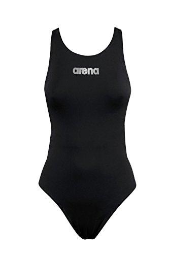 Arena W pwsk St C. Suit de bain, Femme Noir (Black)