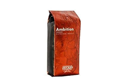 Hero Coffee Bar Whole Bean Ambition Espresso Roast, 1 Pound