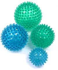 Reflex Massage Therapy Balls - 8 cm - Set of Two