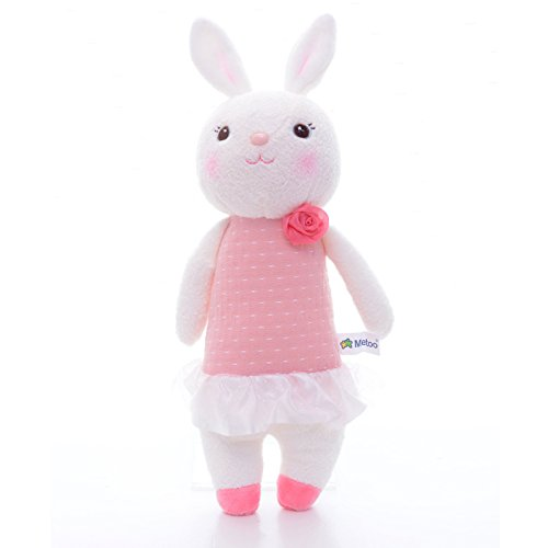 Me Too Tiramitu Stuffed Bunny Dolls Plush Rabbit Toys Easter Gifts Decorations 12 ()