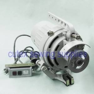 1725RPM -Low Speed Clutch Motor For Industrial Sewing Machines 1//2HP 110 Volt