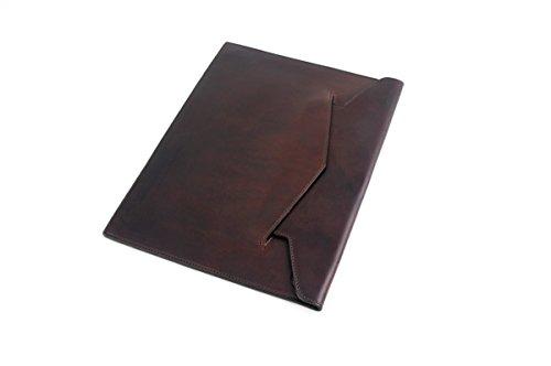 [Vachetta Leather Document Case - Walnut] (Case Vachetta Leather)