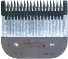 New Clipper Blades (Oster Detachable Blade Size 0A Fits Turbo 111 Clippers)